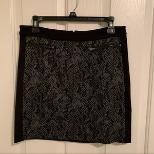 🌻3/20 BANANA REPUBLIC  black and grey skirt